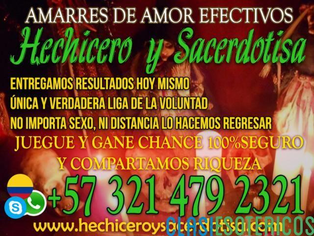 """""""AMARRES DE AMOR DE LOS PODEROSOS HECHICERO Y SACERDOTISA +573214792321"""""""