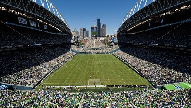 Centurylink Field. Home of the Seattle Sounders. And that other team.