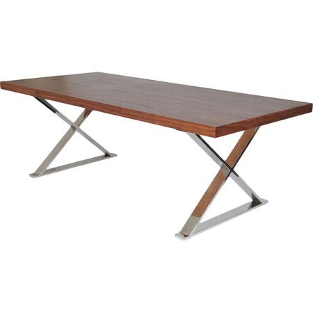 109 best dream modern dining room images on pinterest for X leg dining room table