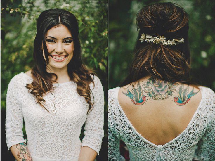 Que levante la mano quien vaya a ser una novia tatuada! http://www.unabodaoriginal.es/blog/de-la-cabeza-a-los-pies/complementos-de-novia/novias-tatuadasNOVIAS TATUADAS novias-tattoos