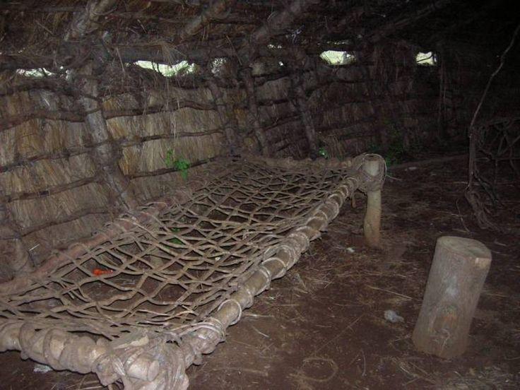 Ruca Mapuche interior