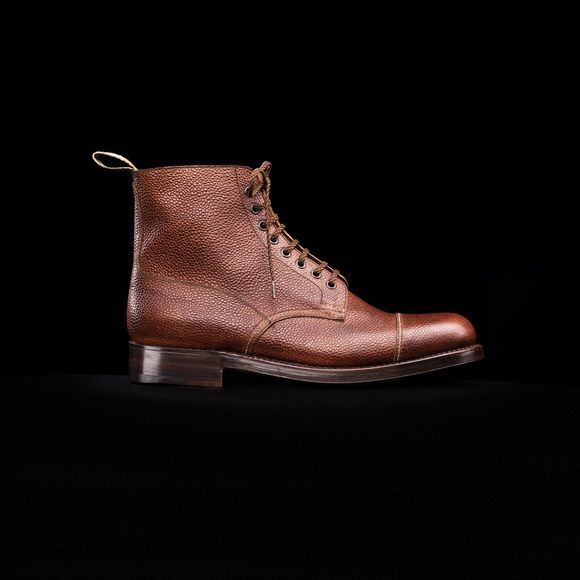 Shoe No 3, 1940's. Shop here.. http://www.grenson.com/uk/shoe-no-3-mens-boot-cognac-grain-leather-leather-sole.html