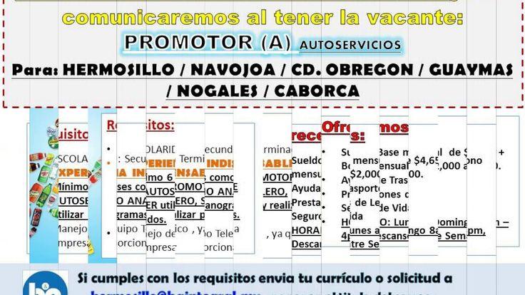 Empleos Sonora rhojo ByA