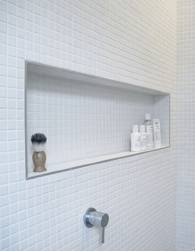 in honor of the fantastic invention that is the humble shower niche or shower shelf u2013 here is a image gallery for your inspiration