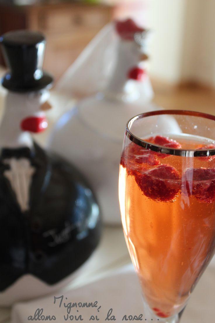 Superior Cocktail A Base De Cremant #4: Cocktail Crémant Eau De Rose Et Gingembre