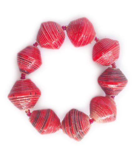 Mandisa - Red | Indigo Heart - Fair Trade Fashion A$9.95