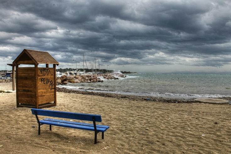 Glyfada beach, near Athens
