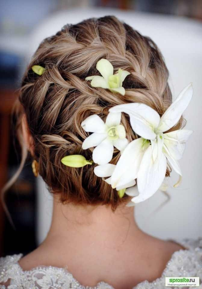 Braided Wedding Up-do.