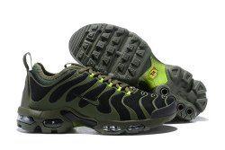 newest eb74e e7156 Nike Air Max Plus TN Ultra Black River Rock Bright Cactus 898015 006 Men s  Running Shoes Sneakers