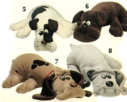 The original 1984 pound puppy. Think I'm still upset over leaving my favorite pound puppy behind in a hotel. Parents tried to replace it but that just did not work!