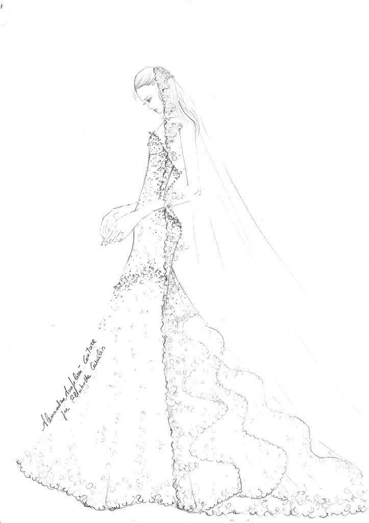 #elisabettacanalis #alessandroangelozzicouture #thedress #elisabettacanalisweddingdress