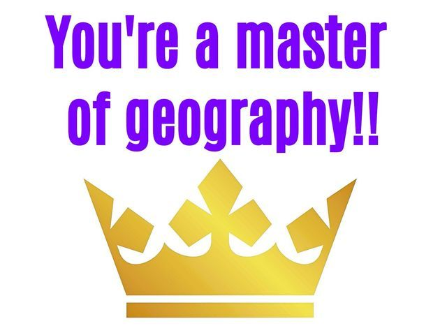 I got: Aced it!!! Only 2% Of People Can Pass This Basic Geography Test. Can You?