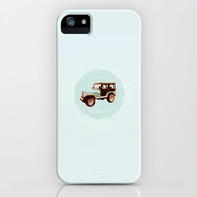 teen wolf art: stiles' jeep iPhone & iPod Case by Aspenaire - $35.00
