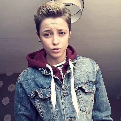 haircut for boys the 25 best tomboy hairstyles ideas on 9570