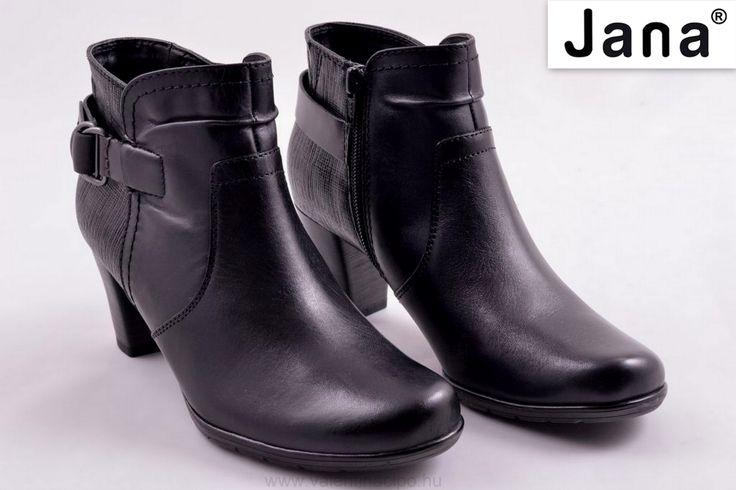 Klasszikus fekete női Jana bokacipő, vékonyabb béléssel és az oldalán cipzárral kerül forgalomba, a Valentina Cipőboltokba és Webáruházunkba! Várjuk nagy szeretettel 😀  http://valentinacipo.hu/jana/noi/fekete/bokacipo/147571141  #jana #janacipő #Valentinacipőbolt