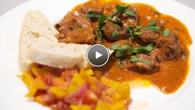 Agnello all'argentiera (kalfsstoofvlees met paprika) - recept   24Kitchen