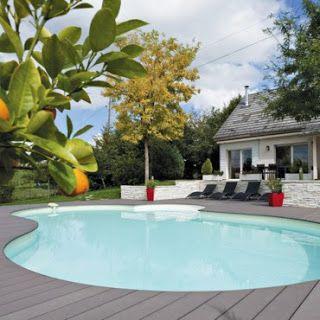 Las 25 mejores ideas sobre modelos de piscinas peque as en for Modelos de patios y jardines