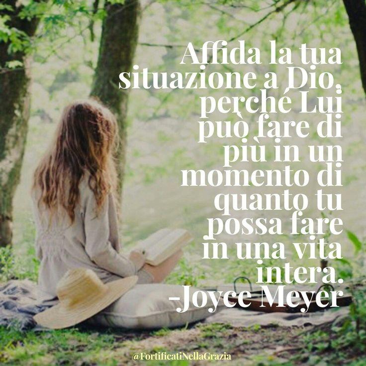 #JoyceMeyer #citazioni #frasicristiane #motivazione #Gesù #incoraggiamento #fede #preoccupazioni #citazioni #GrazieGesù #devotional #fortificatinellagrazia