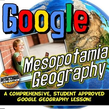 Start the Mesopotamia unit with a fun, student-centered, inquiry-based Google Geography Scavenger Hunt! This comprehensive Google Geography lesson has been both student and teacher approved with an overwhelming thumbs-up! It embodies all of the cool geography capabilities of Google Maps and Google Earth in a digital geography interactive notebook format complete with a Google forms physical geography assessment at the end.