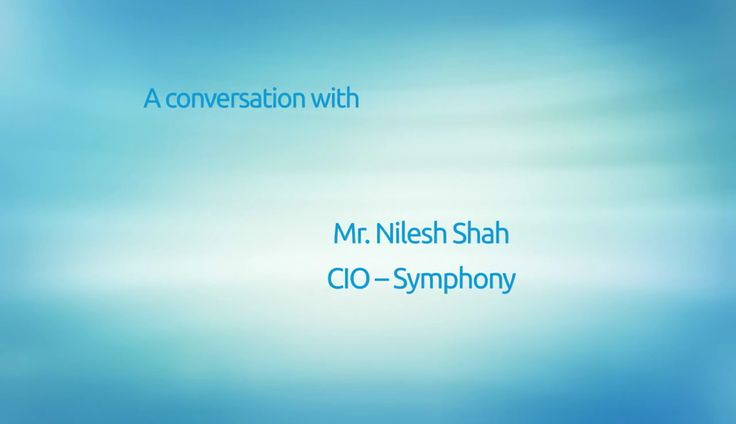 SAP and Cloud - A Talk with Mr. Nilesh Shah, CIO, @Symphony  Mr. Shah shares his thoughts about #SAP environment on a #cloudplatform, #security in cloud running SAP, performance #scalability with ESDS's #eNlight #Cloud, #benefitsofCloud in terms of ROI and more.