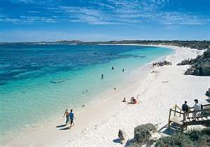 Perth beaches...lovely white sand