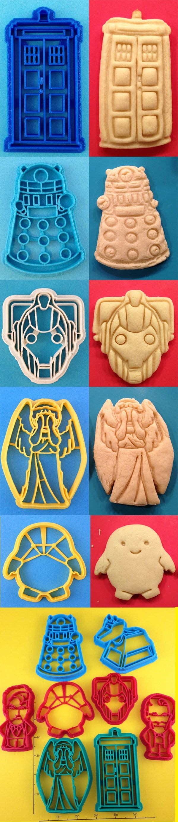 Dr. Who cookies!