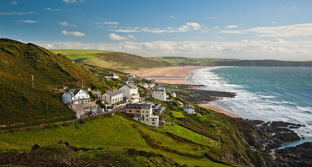 Woolacombe, north Devon, England, UK