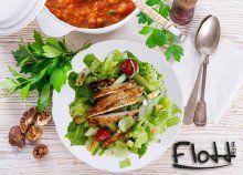 2-fogásos, dietetikus által személyre szabott, diétás ebéd 10 vagy 20 napon át, 2 alkalommal desszerttel
