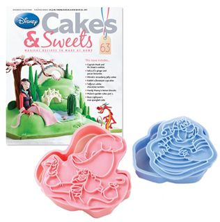 Disney Cakes & Sweets With Captain Hook & Smee Cookie Cutters | Disney Cakes & Sweets | Eaglemoss Collections