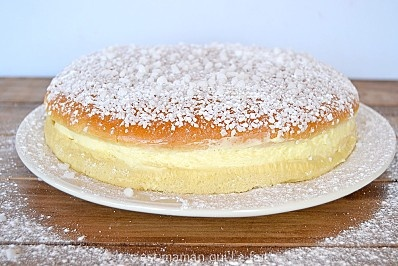 Tropezienne (refaire avec robot pour Brioche et crème trop liquide donc enlever de la Chantilly ou faire une crème au beurre)