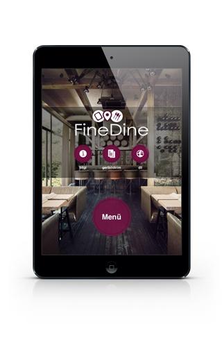 FineDine works well on iPad Mini   http://www.finedinemenu.com/