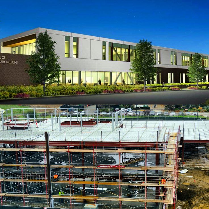 New UC Davis School of Veterinary Medicine Student Services and Administration Center