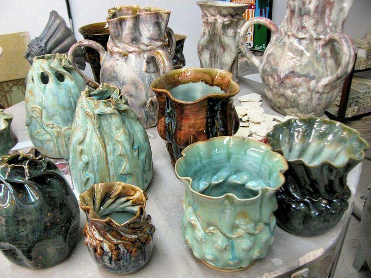 Clark House Pottery - Bill & Pam Clark - Several goodies ...