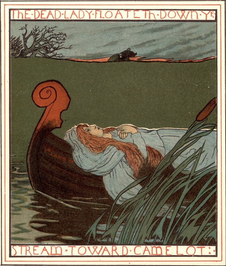 1000+ images about Lady of Shalott on Pinterest   Anne of ...