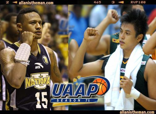 Terrence Romeo (FEU) vs Ray Parks (NU) for UAAP MVP award | http://www.allanistheman.com/2013/07/Romeo-vs-Parks-for-UAAP-MVP-award.html