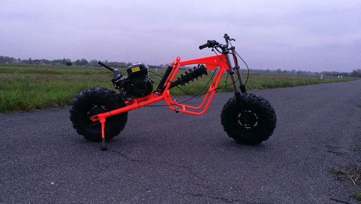 Postapocaliptic bike