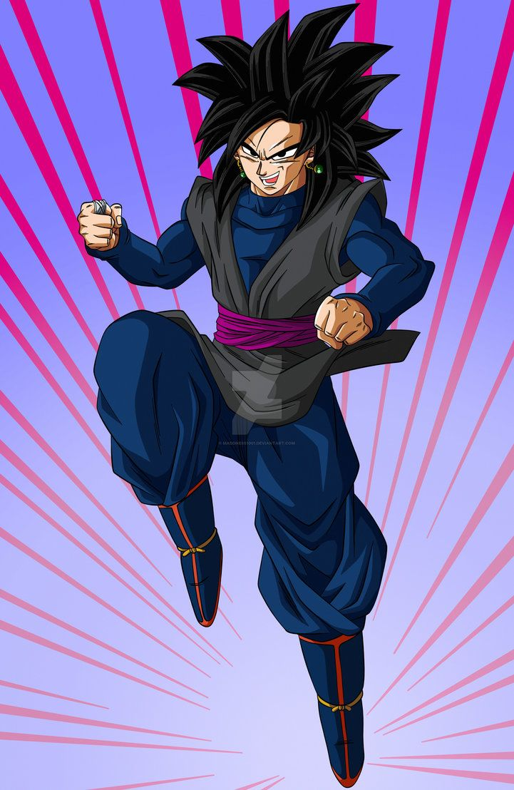 This Idea Was Submitted By User Mangal666 Gakarotto Fusion Goku And Black Goku A Reversal Sit Dragon Ball Super Goku Anime Dragon Ball Super Anime Dragon Ball
