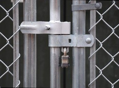 Best 25 Chain Link Fence Gate Ideas On Pinterest Chain