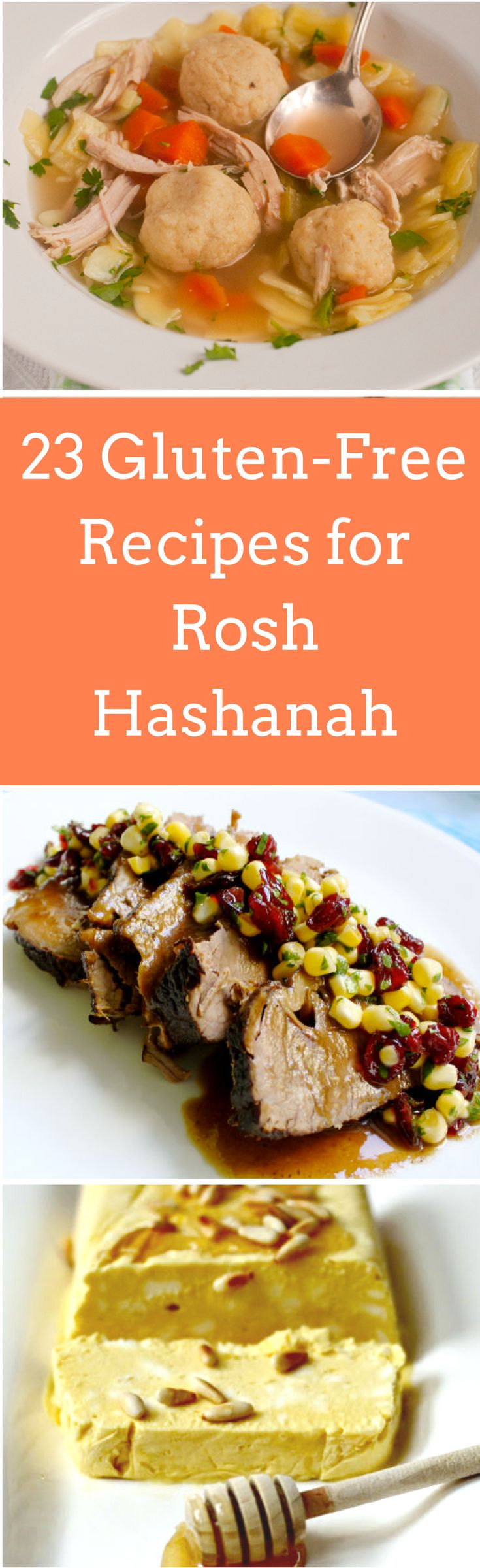 Going gluten-free or serving someone who is? Here are 23 ways you can enjoy traditional holiday foods. http://www.myjewishlearning.com/the-nosher/23-gluten-free-recipes-for-rosh-hashanah/