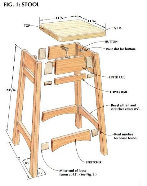 Working on a Shop Stool-stool2.jpg:                                                                                                                                                                                 More