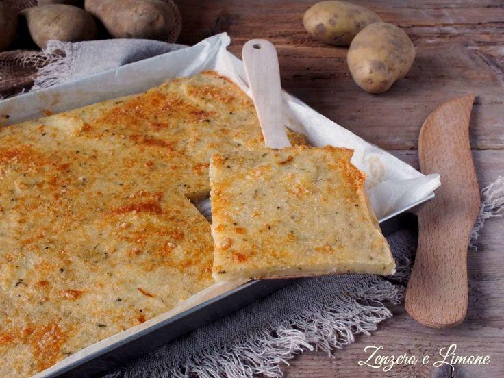 Schiacciata+di+patate+-+ricetta+semplice