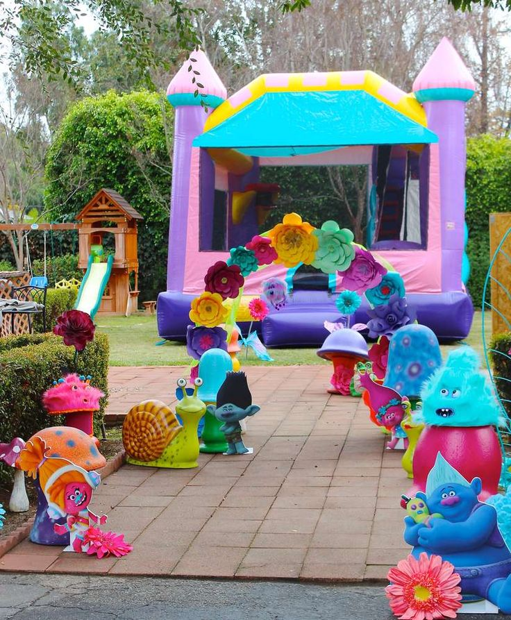 25 best ideas about troll party on pinterest trolls for 5th birthday decoration ideas