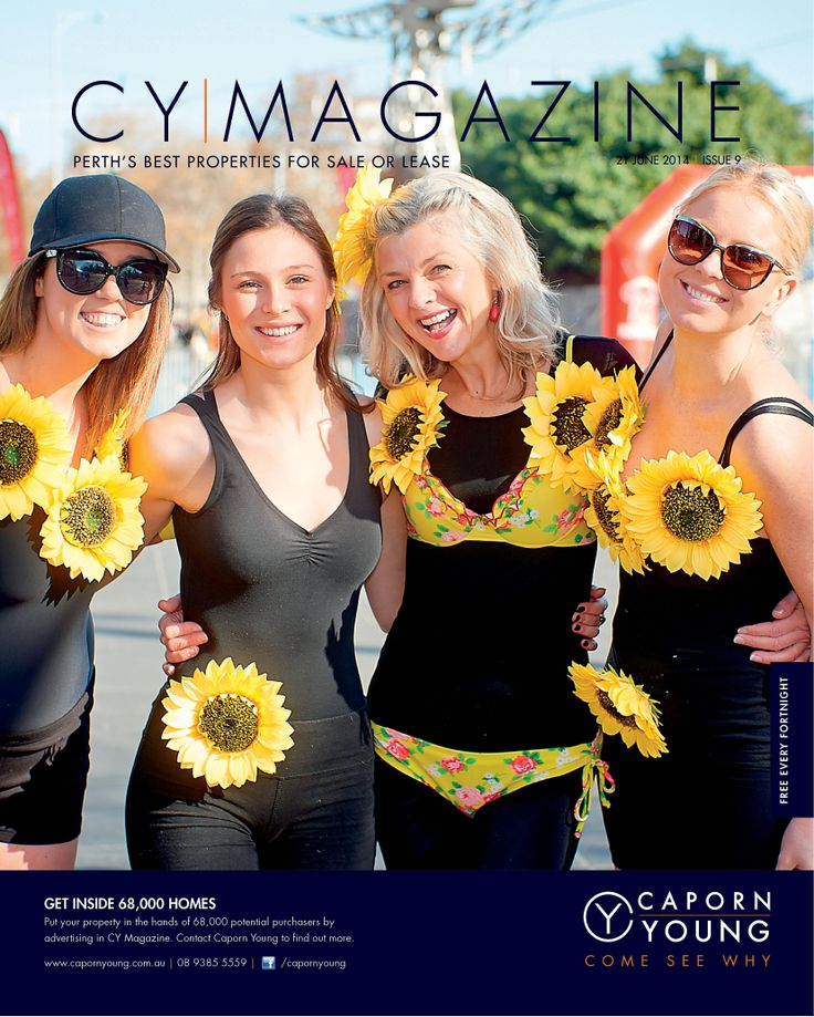 CY Magazine Issue 9 featuring the Leukaemia Foundation's Sunflower Dash! #Perth #RealEstate #PerthProperty
