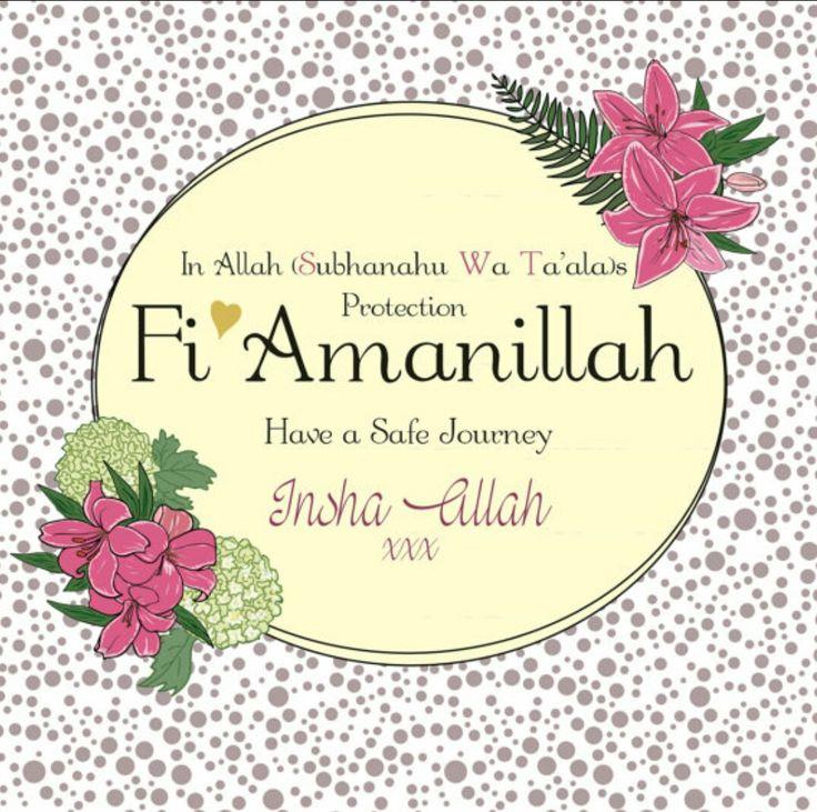 Fi Amanillah Islamic wedding quotes, Beautiful islamic