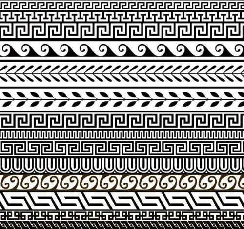 14 Free Greek Ornament Patterns