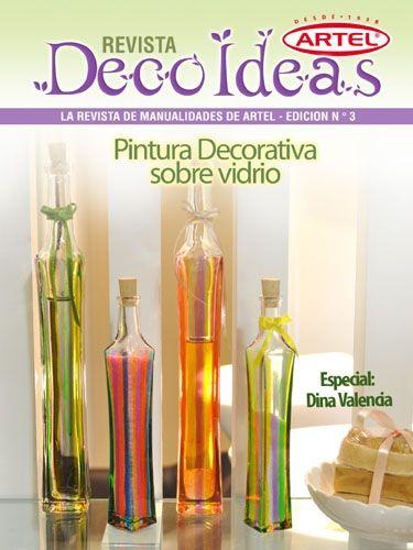 DecoArtel N°3: Pintura Decorativa Sobre Vidrio