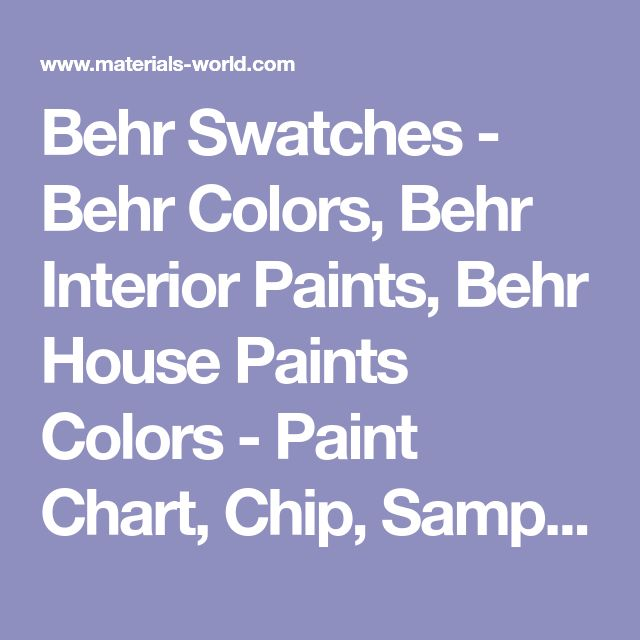 The  Best Behr Paint Colors Chart Ideas On   Gray