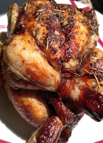 Roasted chicken by Cobb Moss