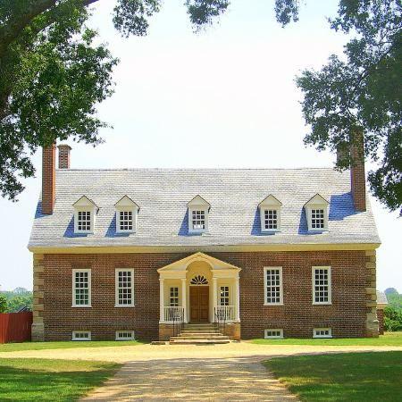 GUNSTON HALL PLANTATION, Fairfax County, Virginia.  Built in 1755, home to George Mason.  -  HAUNTED