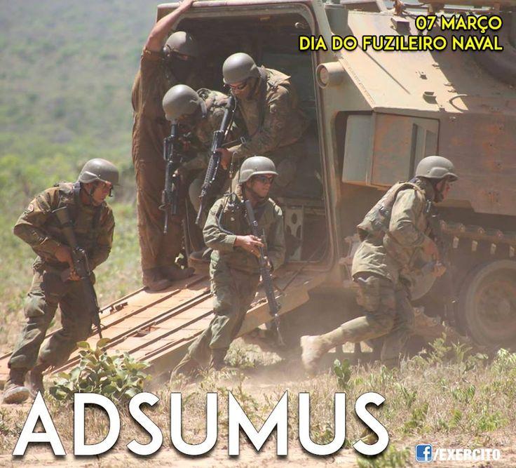 7 de março, dia do Corpo de Fuzileiros Navais. ADSUMUS!
